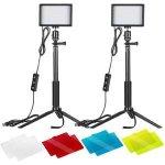 Neewer stolní LED světlo se stativem 2ks 10095736 recenze, cena, návod